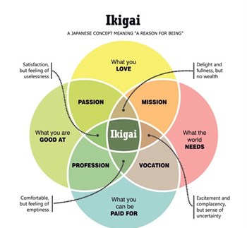 Ikigai – the reason for being!